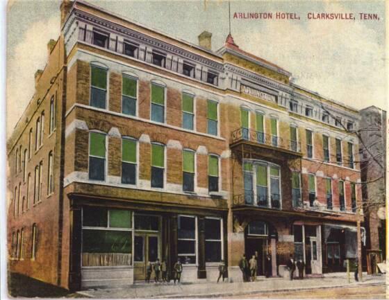 Austin Peay Normal School Cafeteria Arlington Hotel